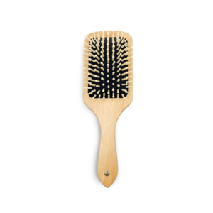 Damage Free Detangling Wooden Brush • Source Beauty Egypt