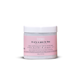 Il n'y a pas le feu! Deep Conditioning Hair Mask • Source Beauty Egypt