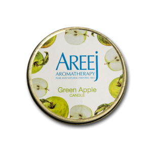 Green Apple Candle •Home Fragrance • Source Beauty Egypt