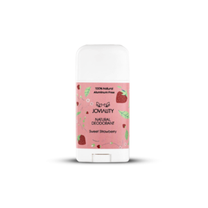 Sweet Strawberry Natural Deodorant • Joviality • Source Beauty Egypt