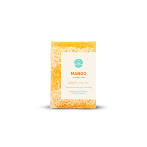 Mango Loofah Soap • Soul & More • Source Beauty Egypt