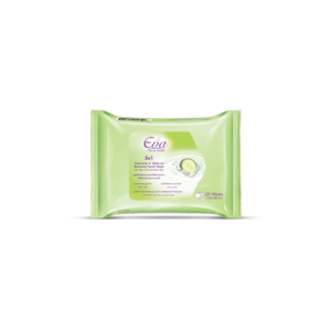 3-in-1 Facial Cleansing Wipes for Oily/Combination skin • Source Beauty Egypt
